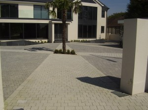 Designed and construction of Driveway Hove